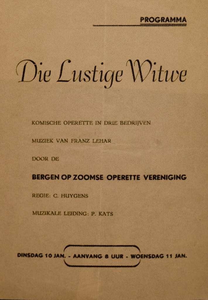 1956 – Die Lustige Witwe