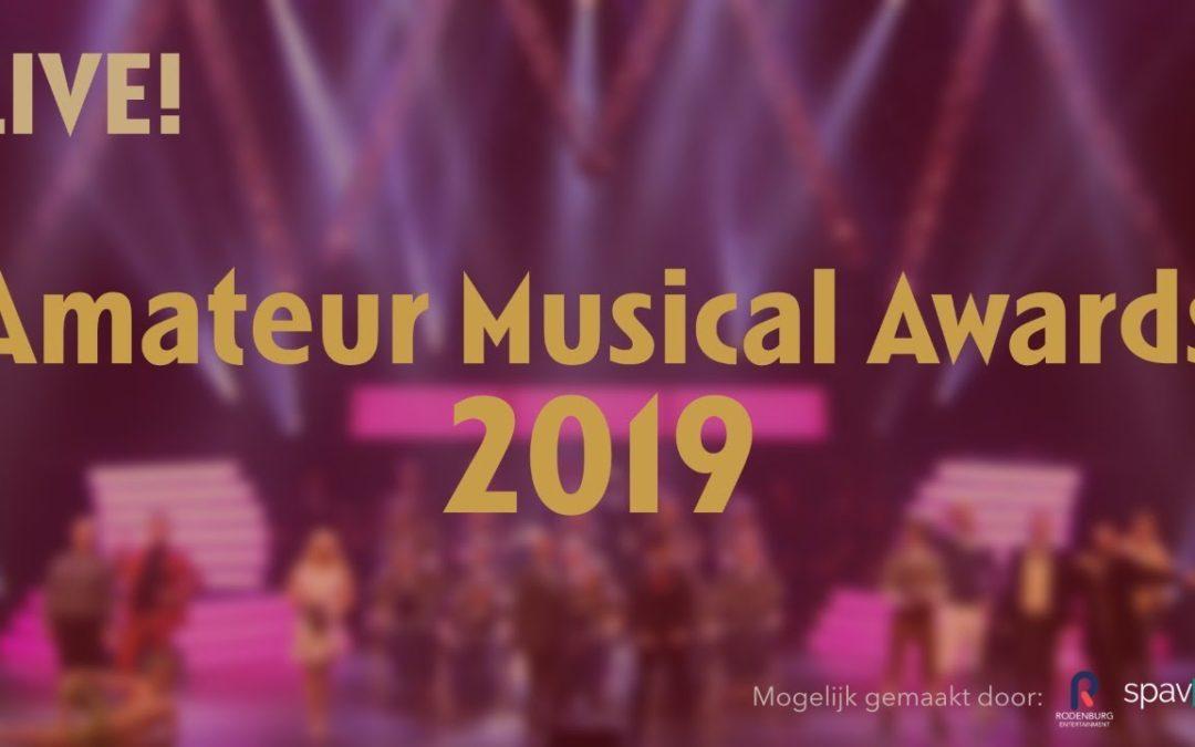 Op weg naar de Amateur Musical Awards