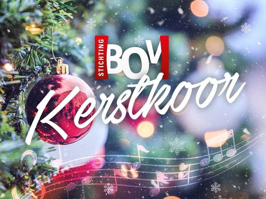 Het BOV kerstkoor: We jingle all the way!