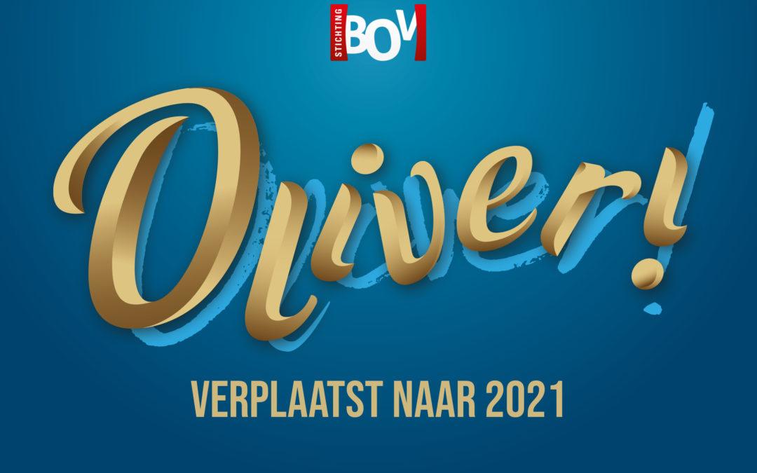 Voorstellingen Oliver! verplaatst naar 2021